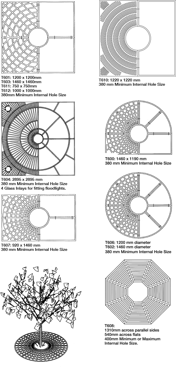 Mascot Engineering Tree Grate Designs