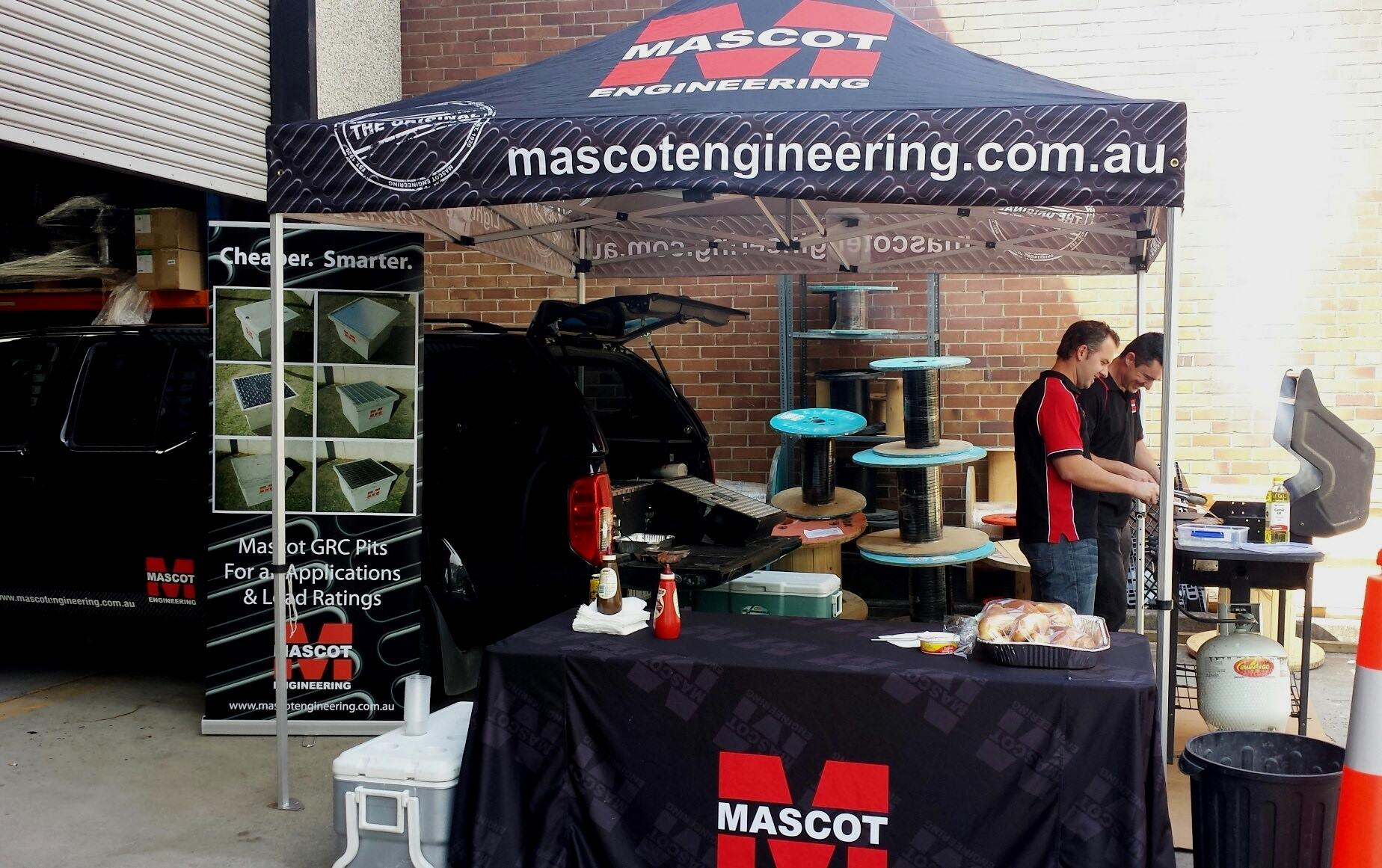 Mascot Engineering BBQ breakfast