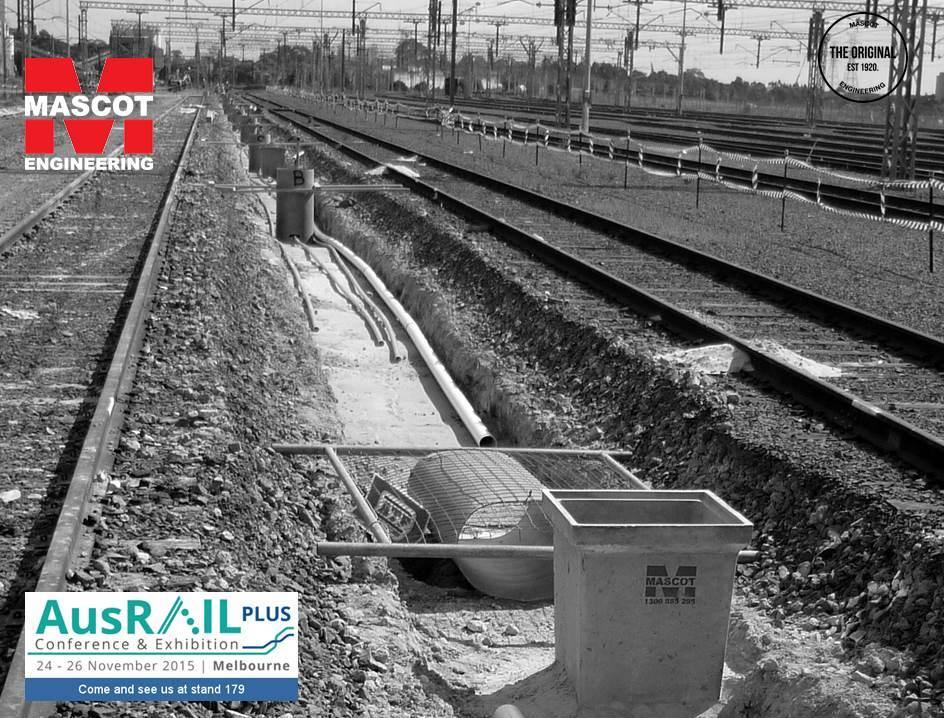 Australia Rail Cable Pit