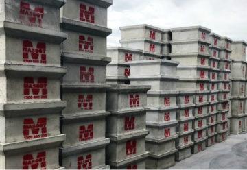 Large stock of Mascot GRC pits