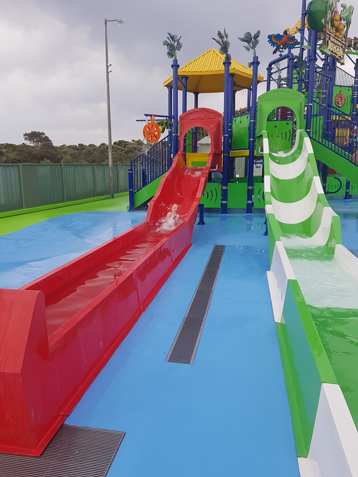 Beachside Holiday Park Water Park