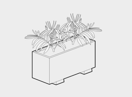 mascot planters