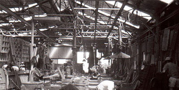 Mascot's Iron Foundry is decommissioned